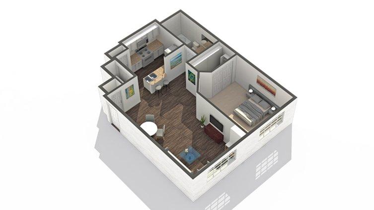 1 Bedroom 1 Bathroom Apartment for rent at Arrive North Scottsdale in Phoenix, AZ