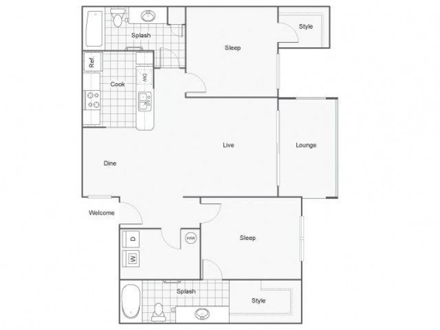 2 Bedrooms 2 Bathrooms Apartment for rent at Arrive Fountain Hills in Fountain Hills, AZ