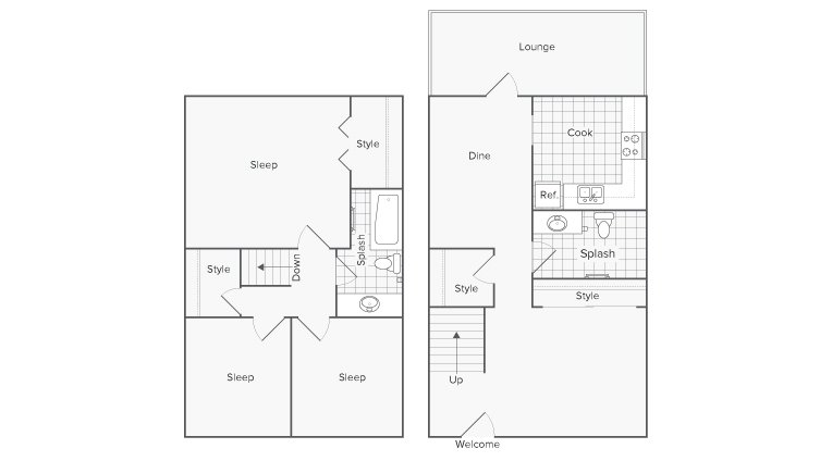 3 Bedrooms 1 Bathroom Apartment for rent at Serene At Riverwood in Athens, GA
