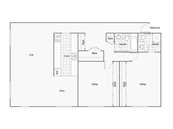 2 Bedrooms 2 Bathrooms Apartment for rent at The Raleigh in Burien, WA