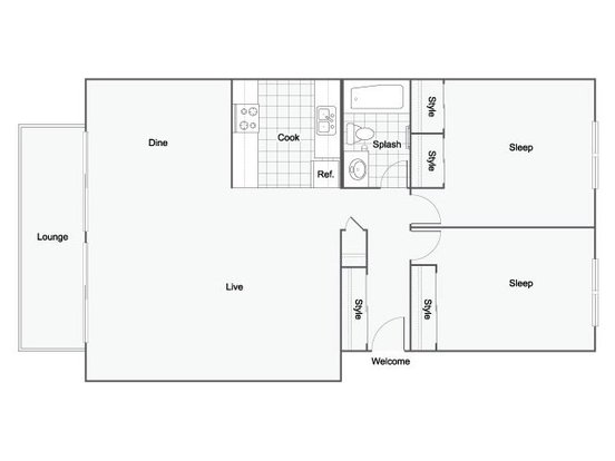 2 Bedrooms 1 Bathroom Apartment for rent at The Hanover in Seatac, WA