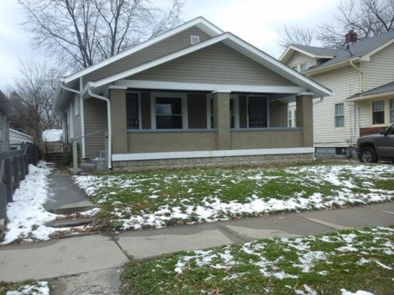 1 Bedroom 1 Bathroom House for rent at 896 N Gladstone Ave in Indianapolis, IN