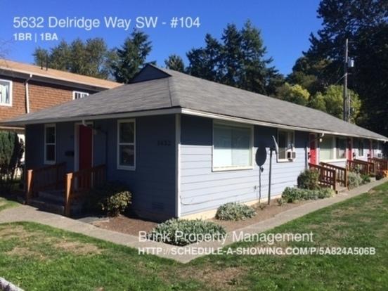 1 Bedroom 1 Bathroom House for rent at 5632 Delridge Way Sw in Seattle, WA