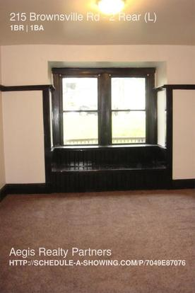 1 Bedroom 1 Bathroom House for rent at 215 Brownsville Rd in Mount Oliver, PA