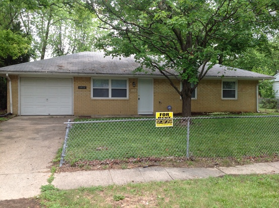 3 Bedrooms 1 Bathroom House for rent at 8810 E 35th St in Indianapolis, IN
