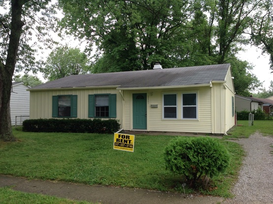 3 Bedrooms 1 Bathroom House for rent at 2461 N Sickle Road in Indianapolis, IN