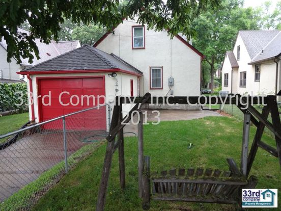 4 Bedrooms 2 Bathrooms House for rent at 4006 Vincent Ave in Minneapolis, MN