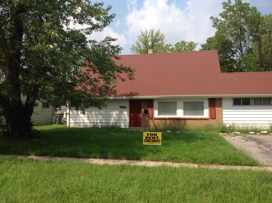 4 Bedrooms 2 Bathrooms House for rent at 6136 E 42nd Street in Indianapolis, IN