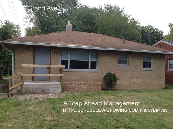 3 Bedrooms 1 Bathroom House for rent at 3967 N Grand Ave in Indianapolis, IN
