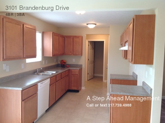 4 Bedrooms 2 Bathrooms House for rent at 3101 Brandenburg Drive in Indianapolis, IN