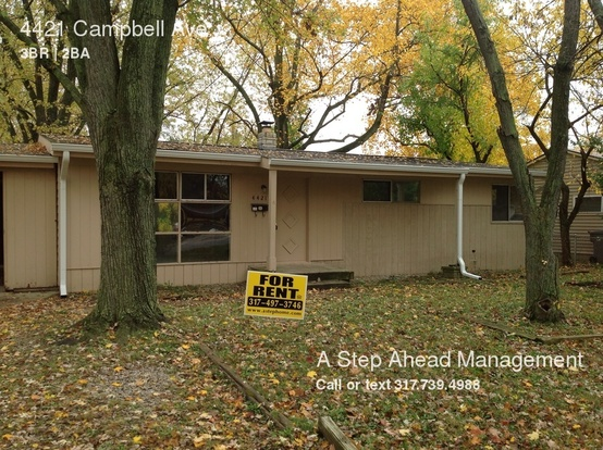 3 Bedrooms 1 Bathroom House for rent at 4421 Campbell Ave in Indianapolis, IN