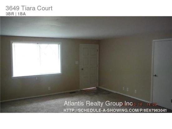 3 Bedrooms 1 Bathroom House for rent at 3649 Tiara Court in Indianapolis, IN