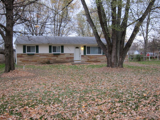 3 Bedrooms 1 Bathroom House for rent at 10902 Ruckle Avenue in Indianapolis, IN