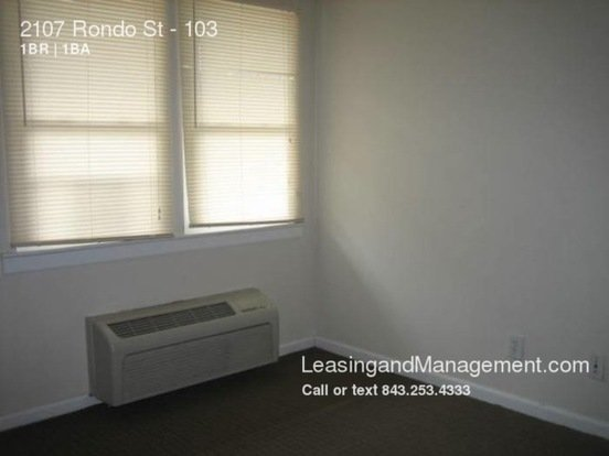 1 Bedroom 1 Bathroom House for rent at 2107 Rondo St in Charleston, SC