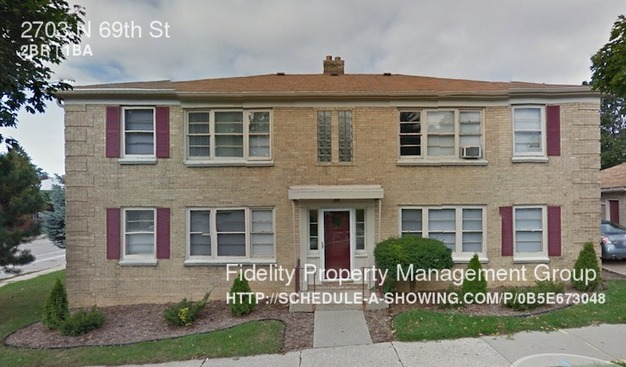 2 Bedrooms 1 Bathroom House for rent at 2703 N 69th St in Milwaukee, WI
