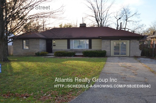3 Bedrooms 1 Bathroom House for rent at 4646 David Street in Indianapolis, IN