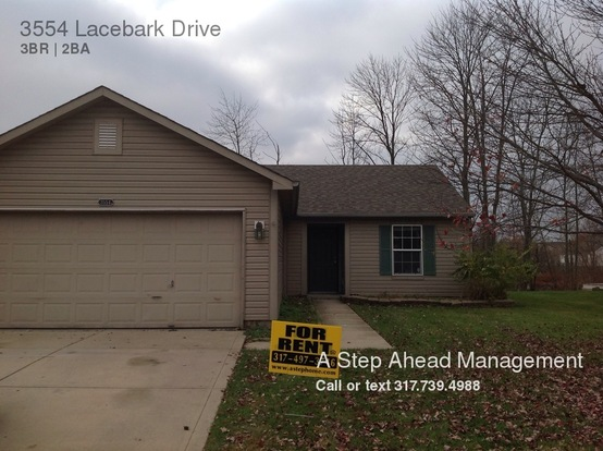 3 Bedrooms 2 Bathrooms House for rent at 3554 Lacebark Drive in Indianapolis, IN