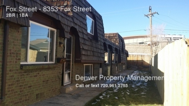 2 Bedrooms 1 Bathroom House for rent at Fox Street in Denver, CO