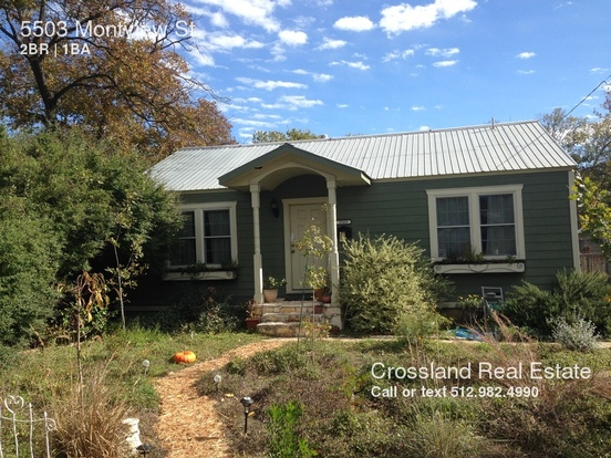 2 Bedrooms 1 Bathroom House for rent at 5503 Montview St in Austin, TX