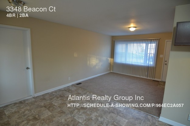 4 Bedrooms 2 Bathrooms House for rent at 3348 Beacon Ct in Indianapolis, IN