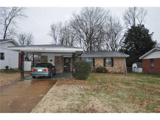 3 Bedrooms 1 Bathroom House for rent at 3431 Edgar St in Memphis, TN