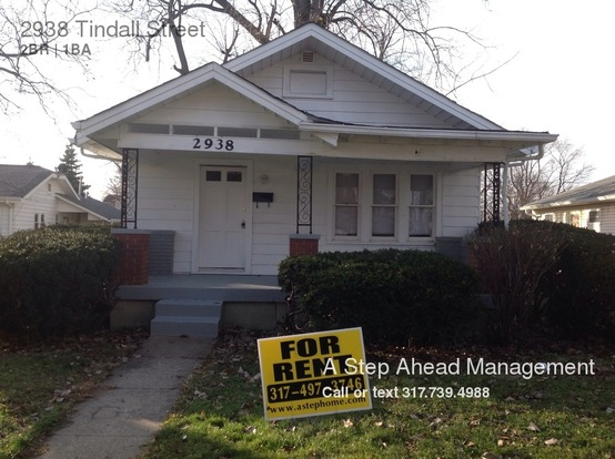 2 Bedrooms 1 Bathroom House for rent at 2938 Tindall Street in Indianapolis, IN