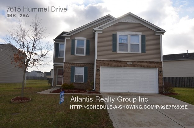 3 Bedrooms 2 Bathrooms House for rent at 7615 Hummel Drive in Indianapolis, IN