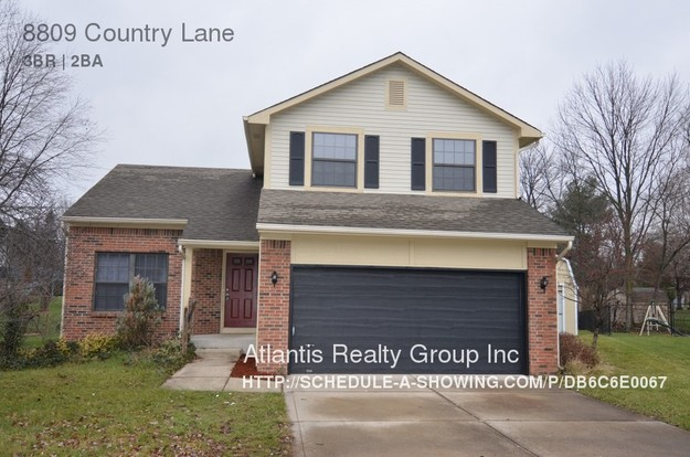 3 Bedrooms 2 Bathrooms House for rent at 8809 Country Lane in Indianapolis, IN