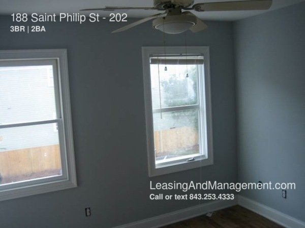 3 Bedrooms 2 Bathrooms Apartment for rent at 188 Saint Philip St in Charleston, SC