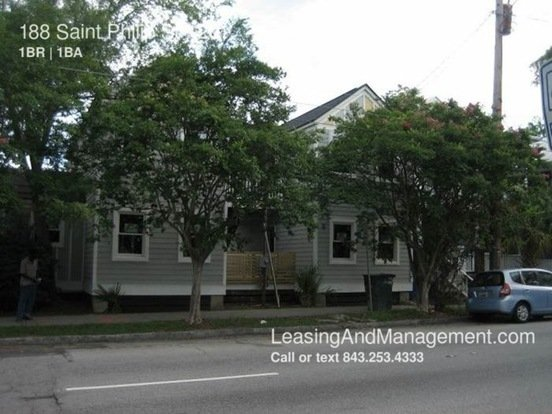 1 Bedroom 1 Bathroom House for rent at 188 Saint Philip St in Charleston, SC