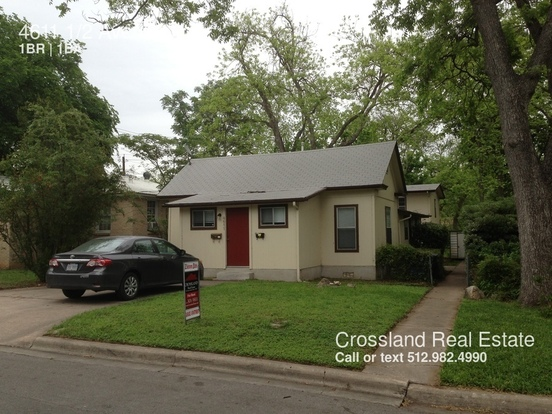 1 Bedroom 1 Bathroom House for rent at 4611 Avenue H in Austin, TX