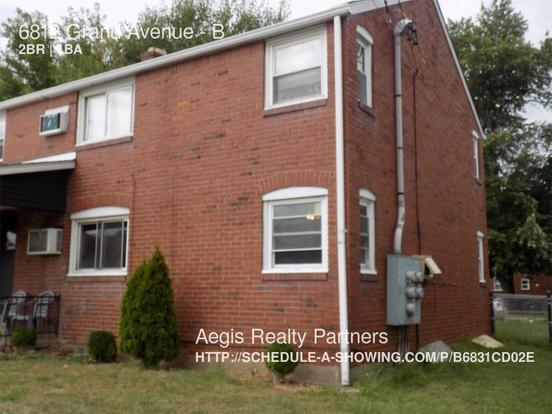 2 Bedrooms 1 Bathroom House for rent at 6812 Grand Avenue in Pittsburgh, PA