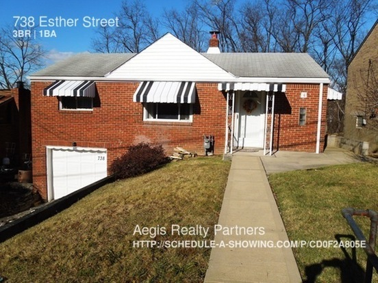 3 Bedrooms 1 Bathroom House for rent at 738 Esther Street in Pittsburgh, PA