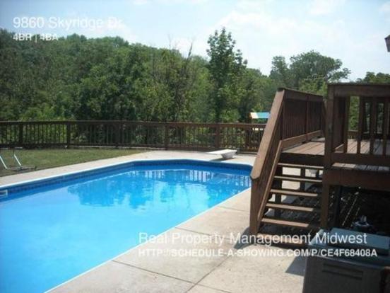4 Bedrooms 3 Bathrooms House for rent at 9860 Skyridge Dr. in Cincinnati, OH