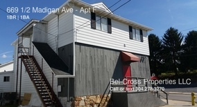 669 1/2 Madigan Ave Apartment for rent in Morgantown, WV