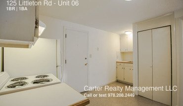 125 Littleton Rd Apartment for rent in Ayer, MA