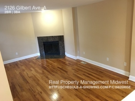 2 Bedrooms 2 Bathrooms House for rent at 2126 Gilbert Ave. A in Cincinnati, OH