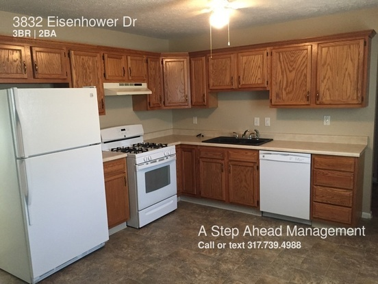 3 Bedrooms 2 Bathrooms House for rent at 3832 Eisenhower Dr in Indianapolis, IN