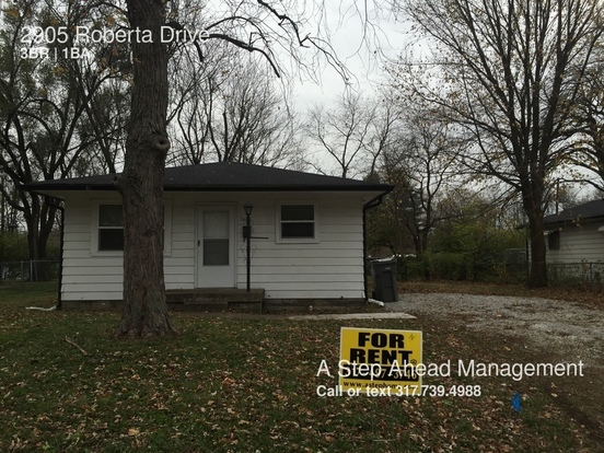 3 Bedrooms 1 Bathroom House for rent at 2905 Roberta Drive in Indianapolis, IN