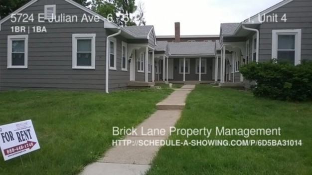 1 Bedroom 1 Bathroom House for rent at 5724 E Julian Ave 6 5724 E Julian Ave in Indianapolis, IN