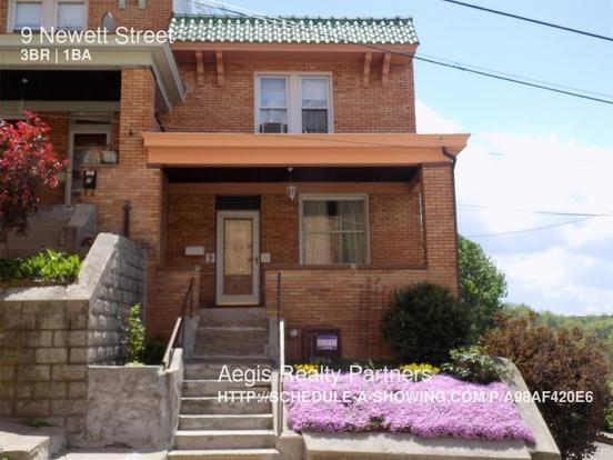 3 Bedrooms 1 Bathroom House for rent at 9 Newett Street in Pittsburgh, PA