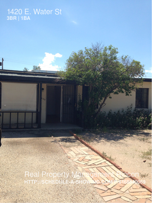 3 Bedrooms 1 Bathroom House for rent at 1420 E. Water St in Tucson, AZ