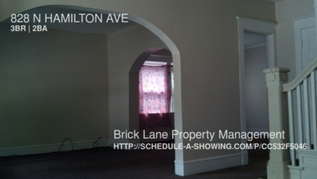 3 Bedrooms 1 Bathroom House for rent at 828 N Hamilton Ave in Indianapolis, IN