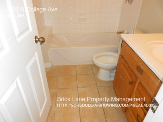 3 Bedrooms 1 Bathroom House for rent at 3353 N College Ave in Indianapolis, IN
