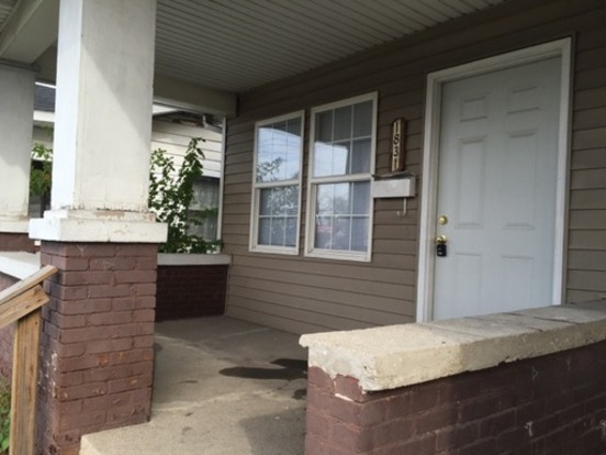 2 Bedrooms 1 Bathroom House for rent at 1831 N. Rural St. in Indianapolis, IN