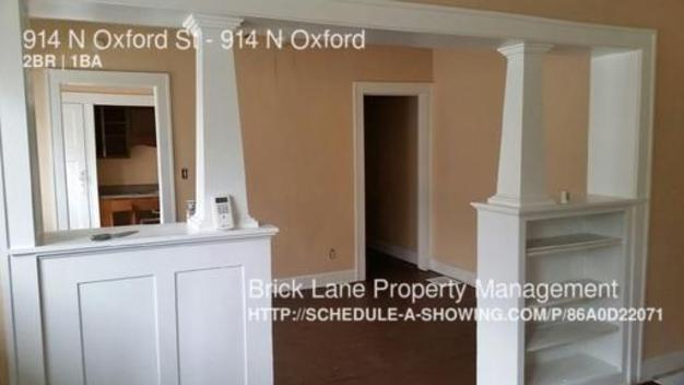 2 Bedrooms 1 Bathroom House for rent at 914 N Oxford St in Indianapolis, IN