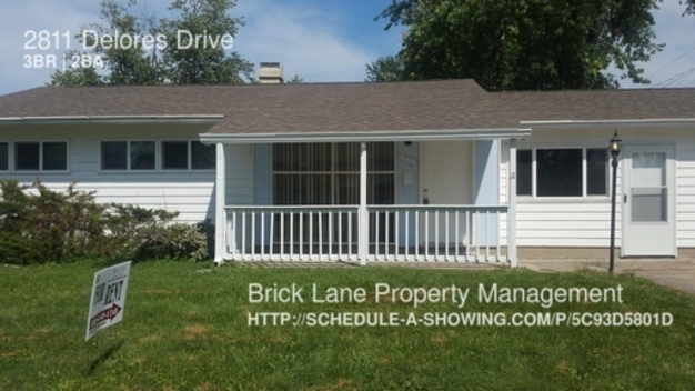 3 Bedrooms 1 Bathroom House for rent at 2811 Delores Drive in Indianapolis, IN