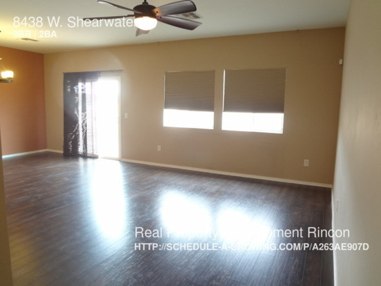 3 Bedrooms 2 Bathrooms House for rent at 8438 W. Shearwater Dr in Tucson, AZ