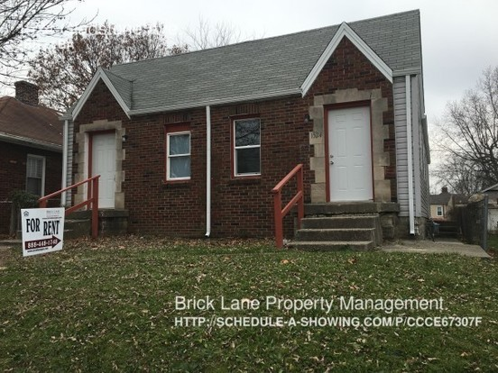 2 Bedrooms 1 Bathroom House for rent at 1524 Gladstone Ave. in Indianapolis, IN
