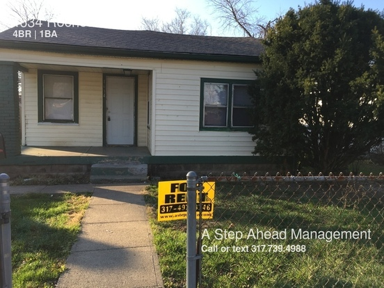 4 Bedrooms 1 Bathroom House for rent at 1634 Rochester Ave in Indianapolis, IN